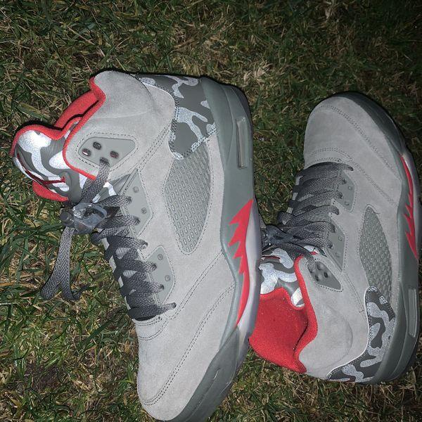Jordan 5 P51 camo size 10