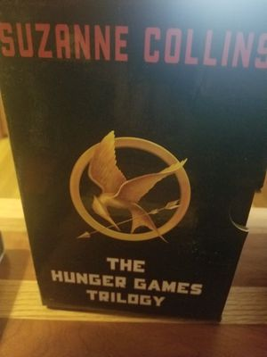 Hunger games books. for Sale in Waltham, MA