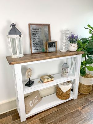 Farmhouse entryway table/console for Sale in Houston, TX