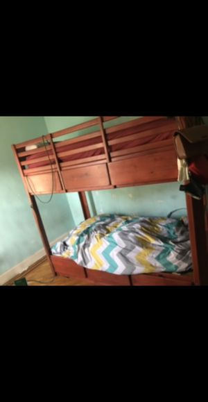 Gothic furniture twin bunk bed for Sale in Brooklyn, NY