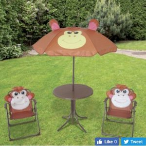 Great for snacks games 3 piece monkey kids patio set. for Sale in Manassas, VA