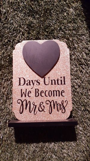 Wedding countdown for Sale in Manteca, CA