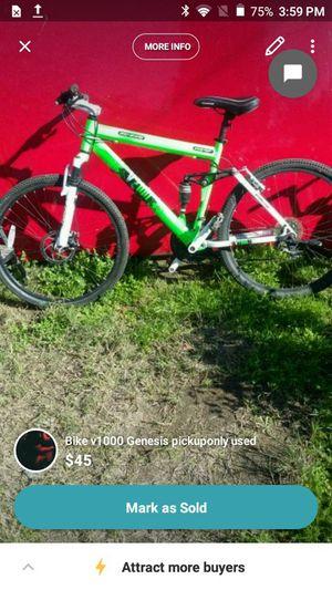 Genesis bike works great puo for Sale in Sanger, CA