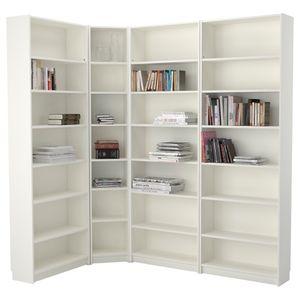 IKEA White Billy Bookcase Corner Wedge for Sale in Vernon Hills, IL
