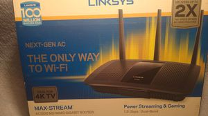 Linksys ea7500 ac1900 with mu-mimo gaming router for Sale in Phoenix, AZ