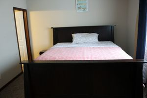 King Size bed Frame and King Size Matteress for Sale in Anoka, MN