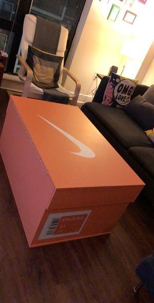 Big Nike Shoe Box for Sale in Fairfax, VA