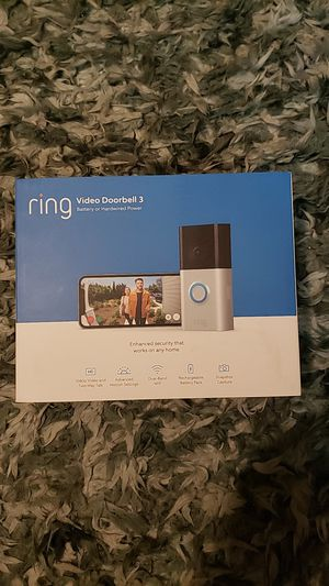Ring Video Doorbell 3 for Sale in Beaverton, OR