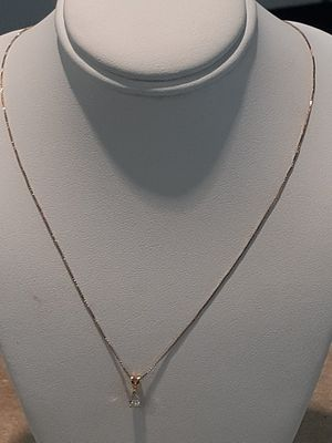 14kt Diamond Necklace for Sale in Durham, NC