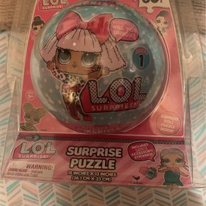 LOL surprise Puzzle Doll Ball (2) for Sale in Scottsdale, AZ
