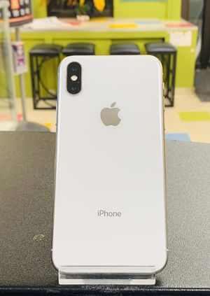 apple iphone X , 64 gb unlocked with store warranty and receipt for Sale in Somerville, MA