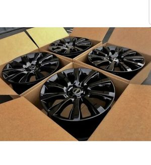"21"" Black Range Rover Land Supercharged 2014-2019 rims wheels Factory OEM for Sale in Long Beach, CA"
