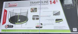 14 Foot Trampoline - Bounce Pro for Sale in Beltsville, MD