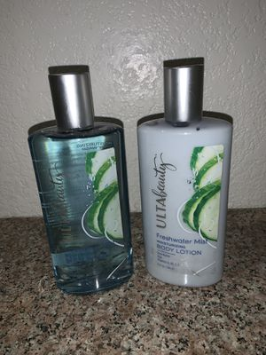 Ulta beauty Freshwater Mist Lotion $ Body Wash for Sale in Redlands, CA
