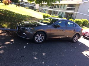 Super nice 2015 Mazda 3 sport with side damage for Sale in Mill Creek, WA
