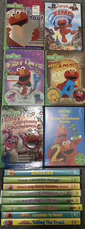 Sesame Street DVDs (1) for Sale in Federal Way, WA