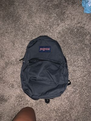 Jansport backpack, charcoal gray new for Sale in Peoria, AZ