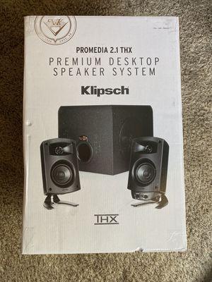 Klipsch Pro Media 2.1 THX Computer Speakers for Sale in Fresno, CA