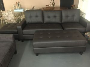 Sofa set with ottoman for Sale in Douglasville, GA