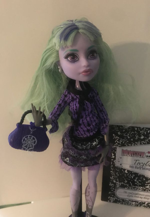 Mattel Monster High TWYLA First Wave 13 Wishes Doll Complete W/ Accessories