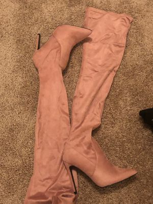 NEW over the knee pink boots! Size 8 for Sale in Atlanta, GA