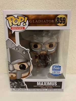 Gladiator: Maximus With Helmet #859 Funko Shop Exclusive Funko Pop for Sale in Stanton, CA