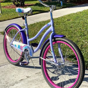 """💕Huffy 24"""" Ladies Comfort Cruiser Bike 💕 - Very Good Condition, Ready To Ride (no Rust) for Sale in Boca Raton, FL"""