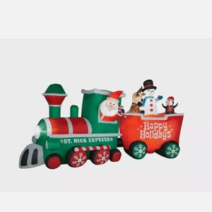 15ft Long St Nick Express Blow Up for Sale in Las Vegas, NV