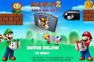 🎮 Nintendo 64 Mario Party 2 🎮- 🚦READ ALL BEFORE MESSAGING US for Sale in Alta Loma, CA