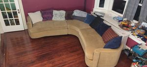 Sectional 3 Piece Sofa couch 10'x10' bernhardt for Sale in Baltimore, MD