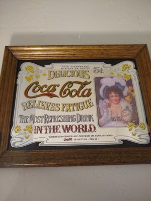 Vintage Coca-Cola Pub Mirror for Sale in Missoula, MT