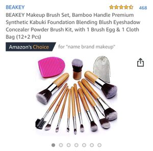 Makeup brush set for Sale in Beaumont, CA