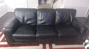 Leather sofa , chair, ottoman, swivel chair for Sale in Frederick, MD