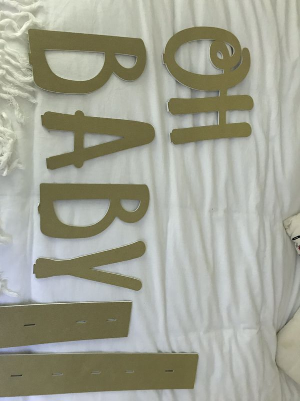 Large Baby shower sign