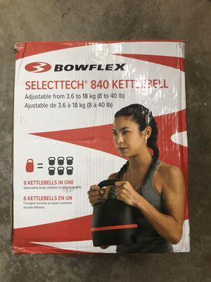 Bowflex SelectTech 840 Kettleball - Single Weight for Sale in Burke, VA