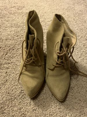 Topshop ankle heel boots for Sale in Puyallup, WA