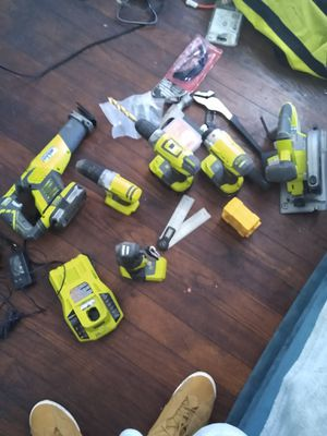 Ryobi...drills,saws,drill bits,saw blades, battery chargers for Sale in Washington, DC