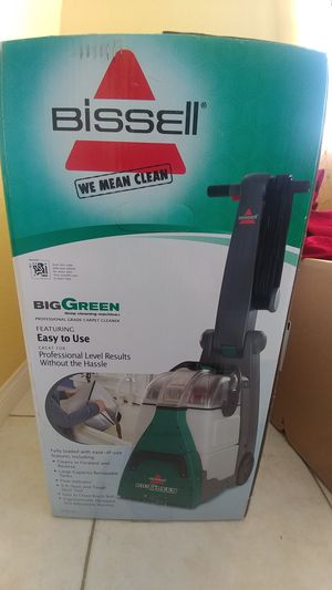 New in Box Bissell Big Green Machine Professional Carpet Cleaner for Sale in Santa Maria, CA