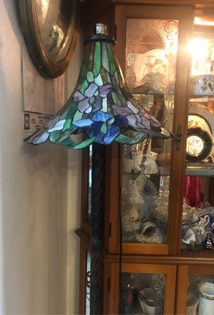Stainglass floor lamp for Sale in Sparks, NV