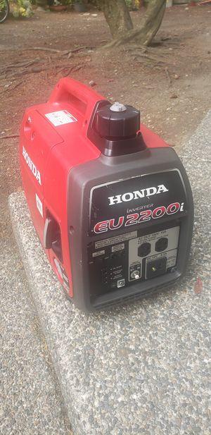 Honda inverter EU2200¡ generator for Sale in Edmonds, WA