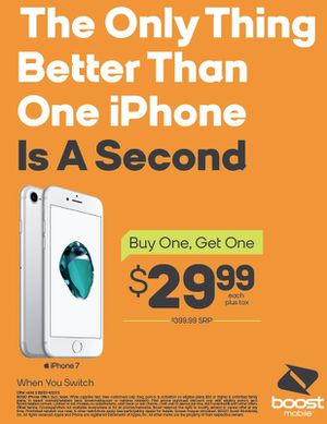 Buy One iPhone 7 and Get One for ONLY $29.99 for Sale in Bakersfield, CA