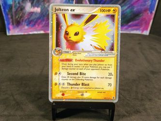 Jolteon ex Delta Species Pokemon Card for Sale in Bedford,  TX
