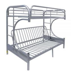 ACME Eclipse Twin XL/Queen/Futon Bunk Bed - Frame Only for Sale in Menifee,  CA