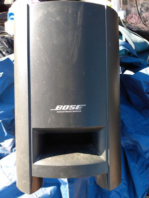 Bose surround cinematic acoustimass module sub and 2 speakers for Sale in West Jordan, UT