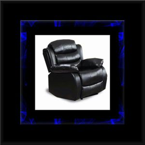 Black recliner chair for Sale in Fairfax, VA