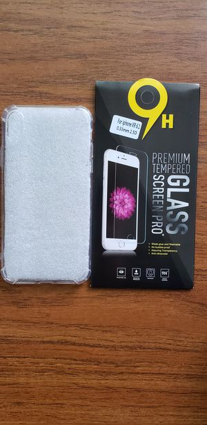Hybrid TPU Shockproof Back Cover Clear Case For iPhone Xs max/Xr/Xs/X/7/8/7+/8+ (Included a free tempered glass) for Sale in Ontario, CA