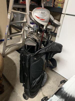 Assortment of Men's Golf Clubs for Sale in College Station, TX
