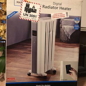 Digital Heater With Remote Control for Sale in San Bernardino, CA