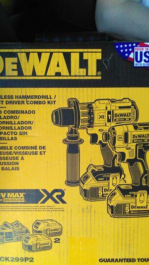 DEwalt hammer drill impact driver kit for Sale in Portland, OR