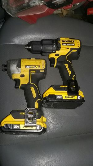 DeWalt 20 volt impact and drill both include batteries no charger for Sale in Kansas City, MO